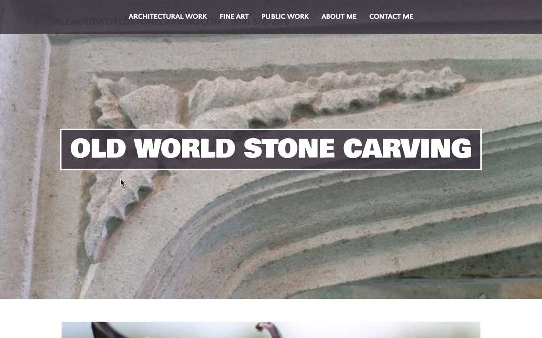 Old World Stone Carving